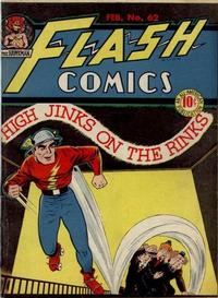 Cover Thumbnail for Flash Comics (DC, 1940 series) #62
