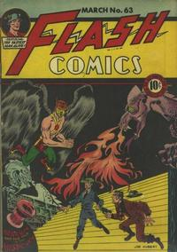 Cover Thumbnail for Flash Comics (DC, 1940 series) #63
