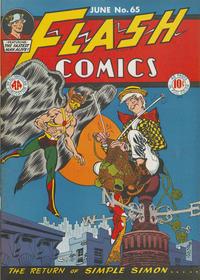 Cover Thumbnail for Flash Comics (DC, 1940 series) #65