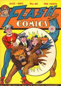 Cover Thumbnail for Flash Comics (DC, 1940 series) #66