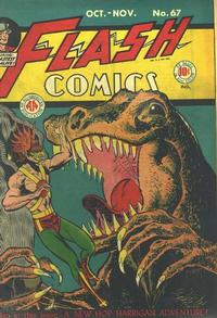 Cover Thumbnail for Flash Comics (DC, 1940 series) #67