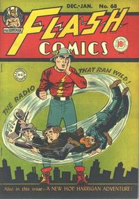 Cover Thumbnail for Flash Comics (DC, 1940 series) #68