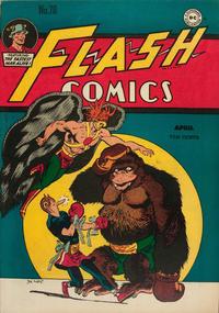 Cover Thumbnail for Flash Comics (DC, 1940 series) #70