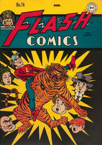 Cover Thumbnail for Flash Comics (DC, 1940 series) #74