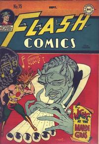 Cover Thumbnail for Flash Comics (DC, 1940 series) #75