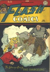 Cover Thumbnail for Flash Comics (DC, 1940 series) #84
