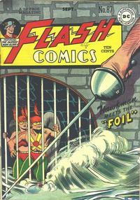 Cover Thumbnail for Flash Comics (DC, 1940 series) #87