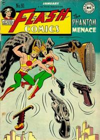 Cover Thumbnail for Flash Comics (DC, 1940 series) #91