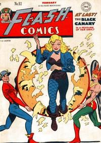 Cover Thumbnail for Flash Comics (DC, 1940 series) #92