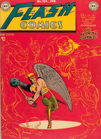 Cover Thumbnail for Flash Comics (DC, 1940 series) #104