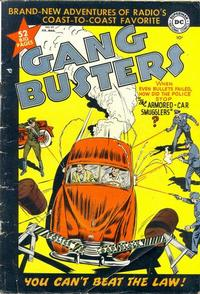 Cover Thumbnail for Gang Busters (DC, 1947 series) #20