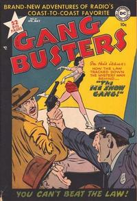 Cover Thumbnail for Gang Busters (DC, 1947 series) #21
