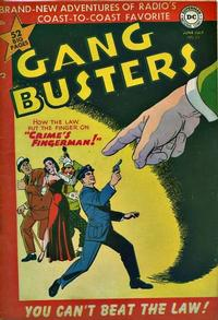 Cover Thumbnail for Gang Busters (DC, 1947 series) #22