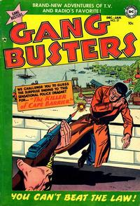 Cover Thumbnail for Gang Busters (DC, 1947 series) #37