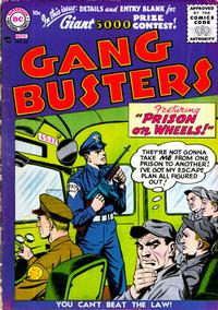 Cover Thumbnail for Gang Busters (DC, 1947 series) #54