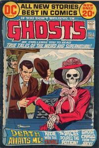 Cover Thumbnail for Ghosts (DC, 1971 series) #6