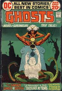 Cover Thumbnail for Ghosts (DC, 1971 series) #7