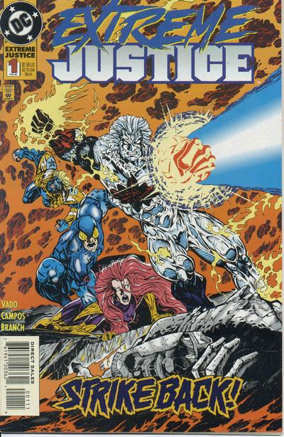 Cover for Extreme Justice (DC, 1995 series) #1