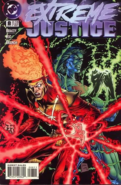 Cover for Extreme Justice (DC, 1995 series) #8