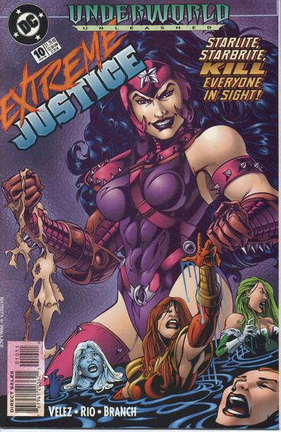 Cover for Extreme Justice (DC, 1995 series) #10