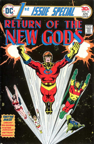 Cover for 1st Issue Special (DC, 1975 series) #13