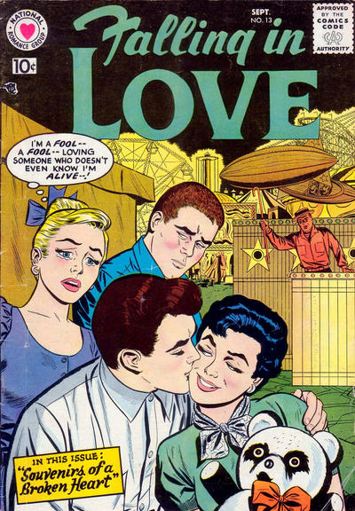 Cover for Falling in Love (DC, 1955 series) #13