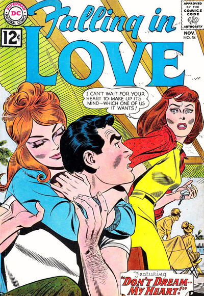 Cover for Falling in Love (DC, 1955 series) #54
