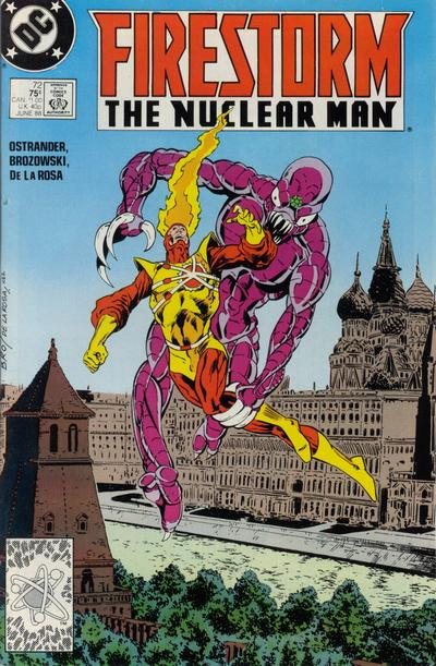 Cover for Firestorm the Nuclear Man (DC, 1987 series) #72 [Direct]