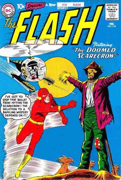Cover for The Flash (DC, 1959 series) #118