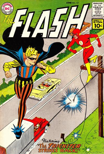 Cover for The Flash (DC, 1959 series) #121