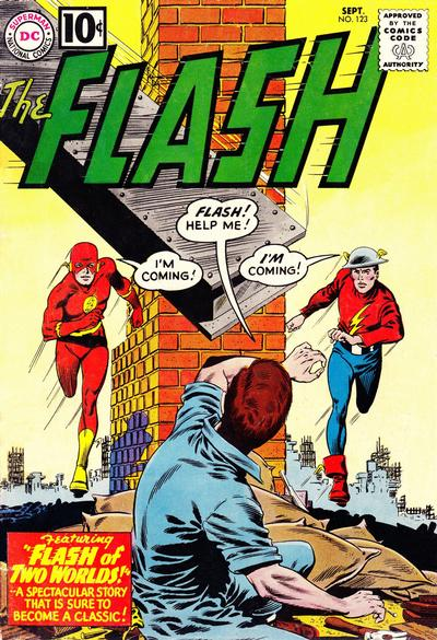 Cover for The Flash (DC, 1959 series) #123