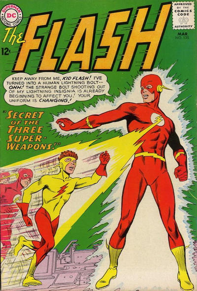 Cover for The Flash (DC, 1959 series) #135