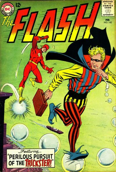 Cover for The Flash (DC, 1959 series) #142