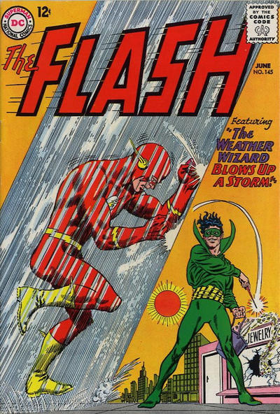Cover for The Flash (DC, 1959 series) #145