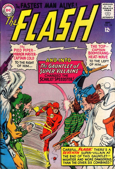 Cover for The Flash (DC, 1959 series) #155