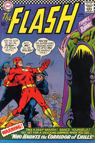 Cover for The Flash (DC, 1959 series) #162