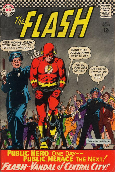 Cover for The Flash (DC, 1959 series) #164