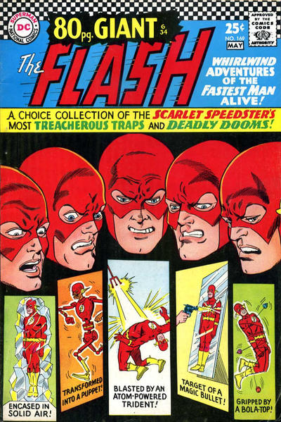 Cover for The Flash (DC, 1959 series) #169