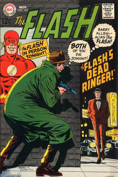Cover for The Flash (DC, 1959 series) #183