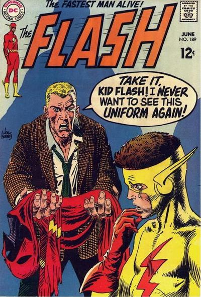 Cover for The Flash (DC, 1959 series) #189