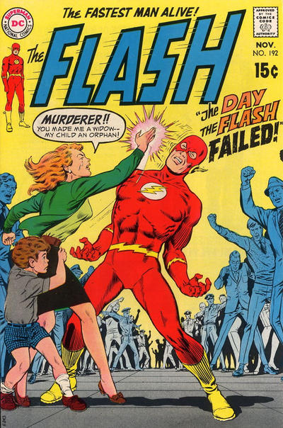 Cover for The Flash (DC, 1959 series) #192