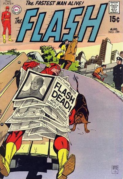 Cover for The Flash (DC, 1959 series) #199