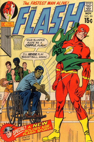 Cover for The Flash (DC, 1959 series) #201