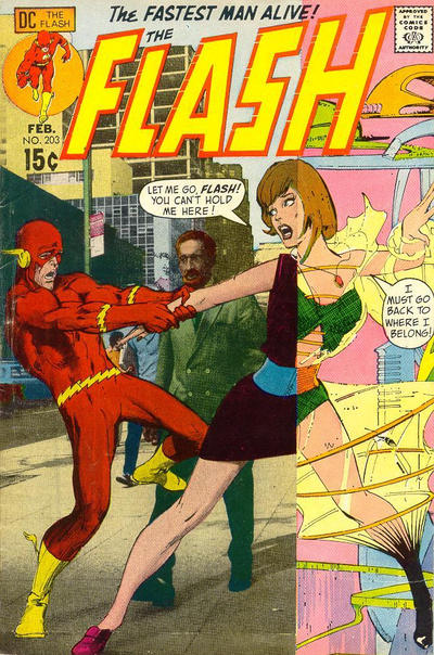 Cover for The Flash (DC, 1959 series) #203