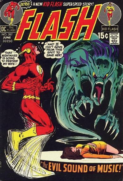Cover for The Flash (DC, 1959 series) #207