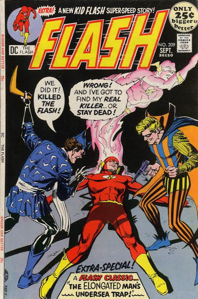 Cover for The Flash (DC, 1959 series) #209