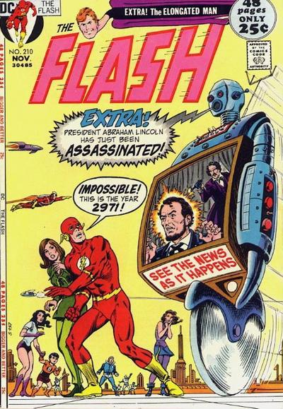 Cover for The Flash (DC, 1959 series) #210