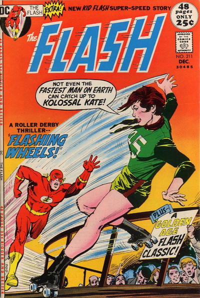 Cover for The Flash (DC, 1959 series) #211