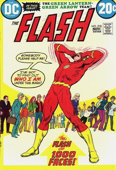 Cover for The Flash (DC, 1959 series) #218