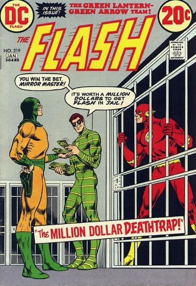 Cover for The Flash (DC, 1959 series) #219